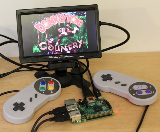 RetroPie Project SD Raspberry